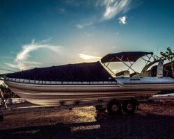 Νέα πέραμος, parking σκαφών